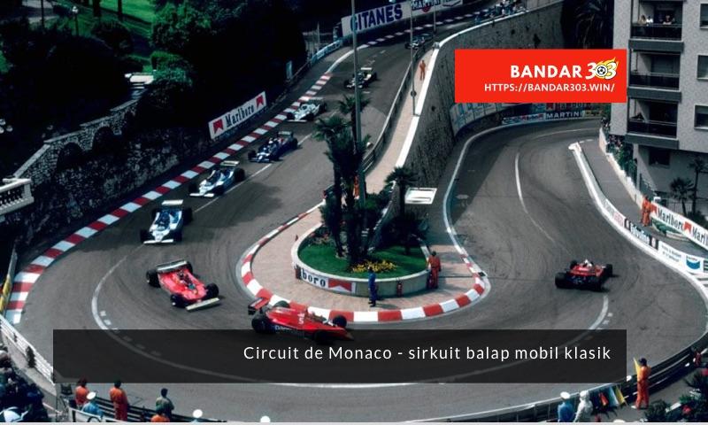 Circuit de Monaco iconic balap mobil