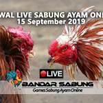 Jadwal Sabung Ayam Online S128 Dan SV388 15 September 2019