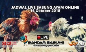 jadwal sabung ayam online s128 dan sv388 15 oktober 2018
