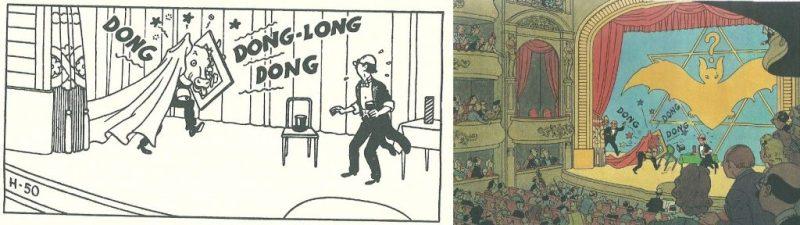 Hergé - As 7 bolas de cristal, expansão