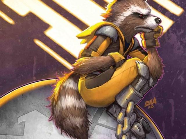 Rocket Raccoon 4 by Jorge Coelho: previews