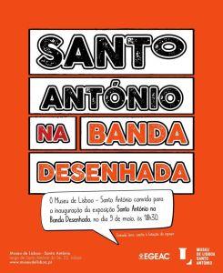 Santo António na Banda Desenhada @ Museu de Lisboa - Santo António | Lisboa | Lisboa | Portugal
