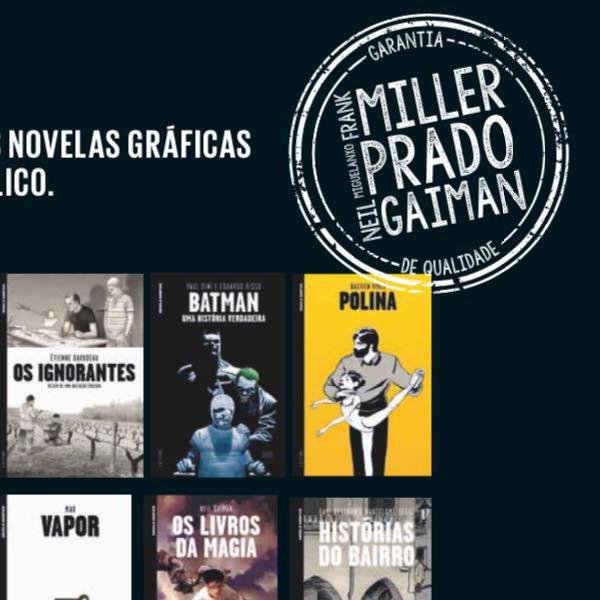 Coleção Novelas Gráficas está de volta