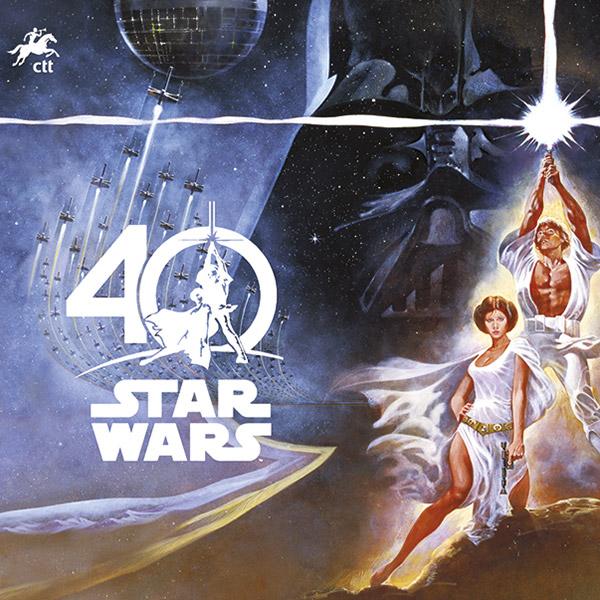 Star Wars: 40 Anos em selos pelos CTT