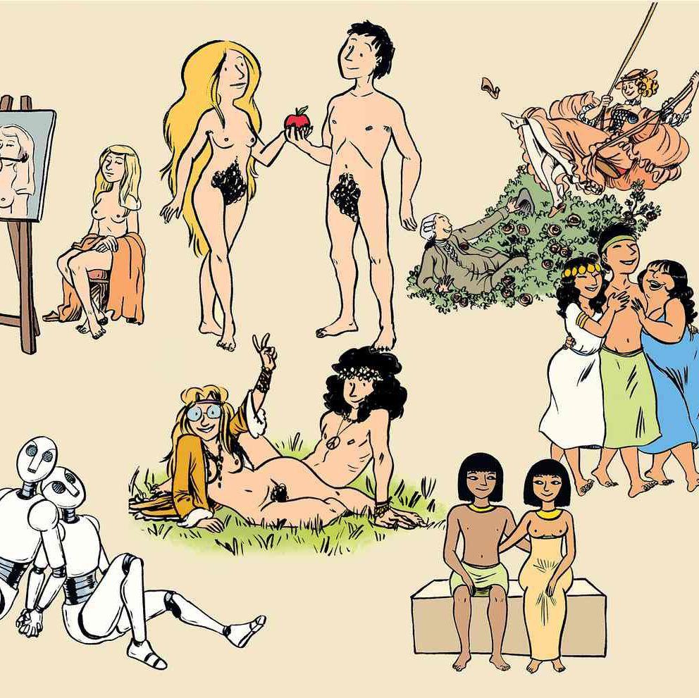 História do Sexo em BD