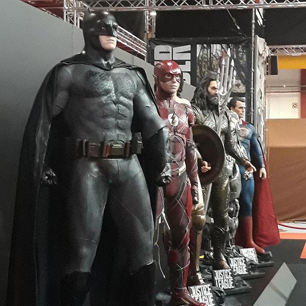 Comic Con 2017: visita de imprensa