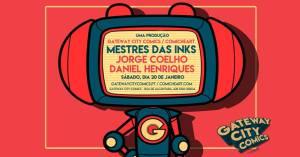 Mestres das Inks @ Gateway City Comics   Lisboa   Lisboa   Portugal
