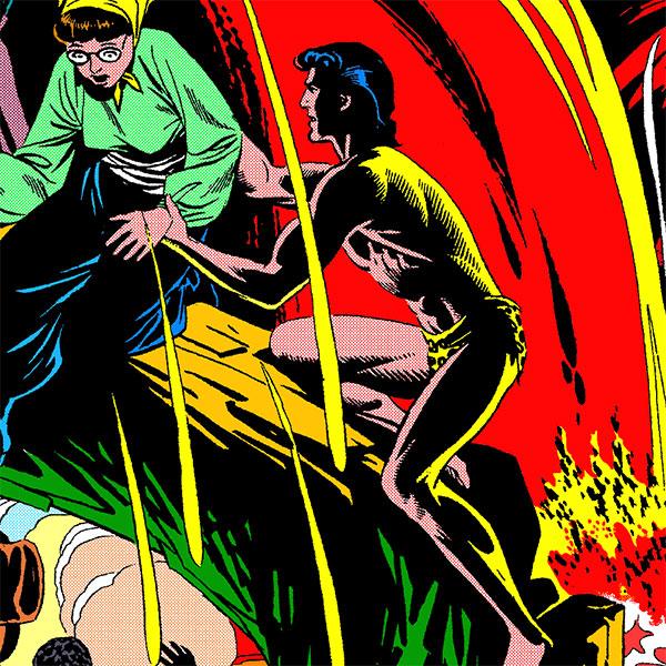 Tarzan de Russ Manning: o terceiro volume das pranchas dominicais