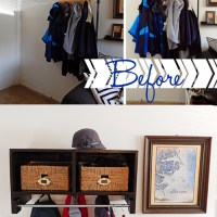 Ikea Inspired Coat Cubby - The Reveal!