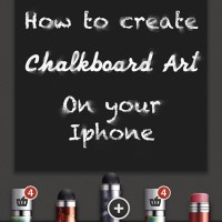 DIY Chalk Art On Your Smart Phone
