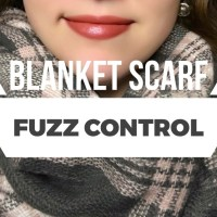 Skip the Fuzz with this Blanket Scarf Hack