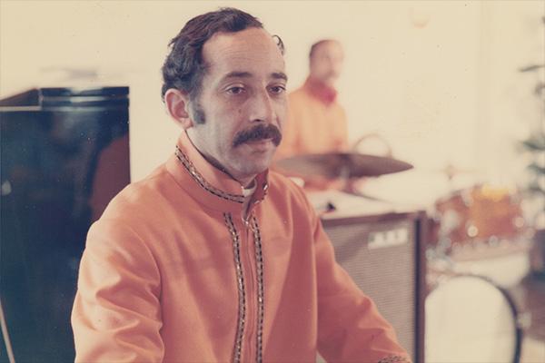 Algerian composer Ahmed Male