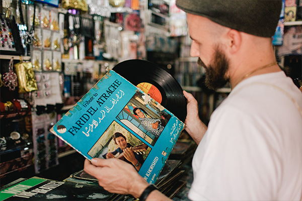 Jannis Stuertz of Habibi Funk Records