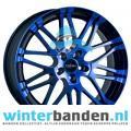 Oxigin 14 Oxrock Blue Polished 18 inch