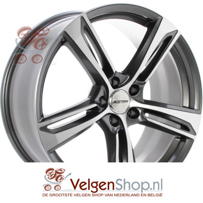 GMP PAKY Anthracite polished 20 inch