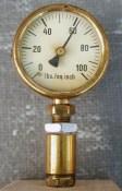 Completed PSI gauge