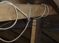 Temperature sensor in roof