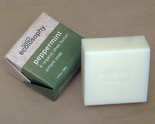 all natural peppermint soap large size 6 ounce