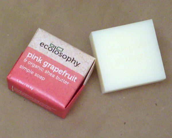 natural soap - pink grapefruit small