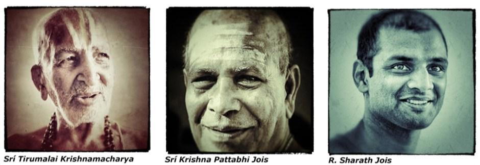 Parampara T. Krishnamacharya, K. Pattabhi Jois, Sharath Jois
