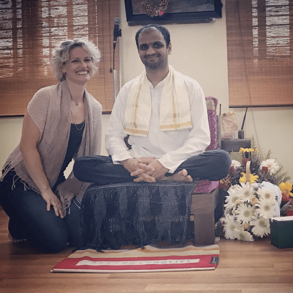 Guruji Sharath Jois and Harmony