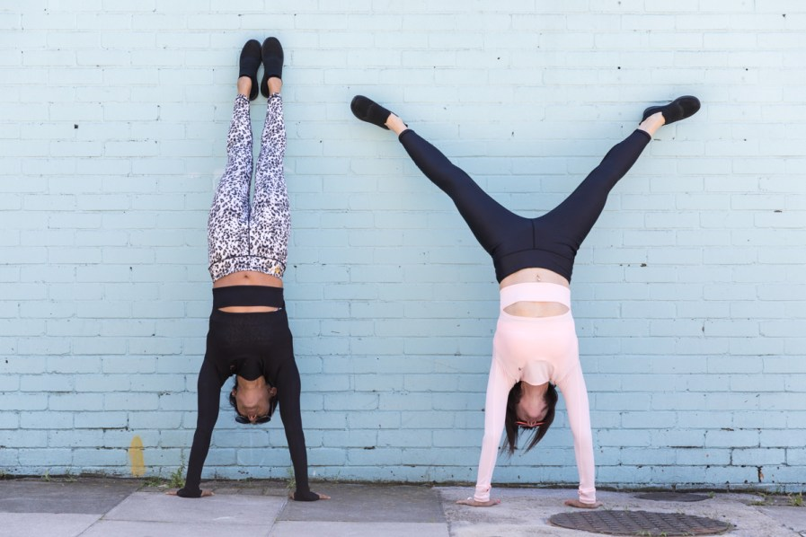 Cool down tops and leggings together