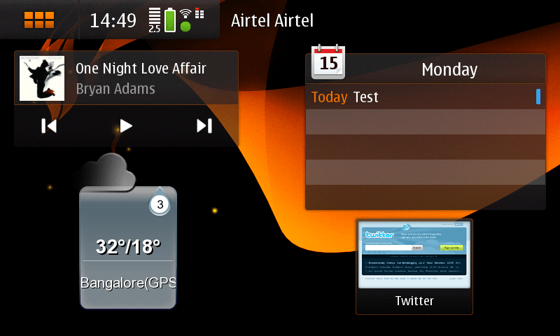 Maemo 5 Review Part 1 (home screen, contacts, texting, calling) (3/6)