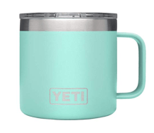 Perfect mug for the coffee drinker, the YETI rambler!