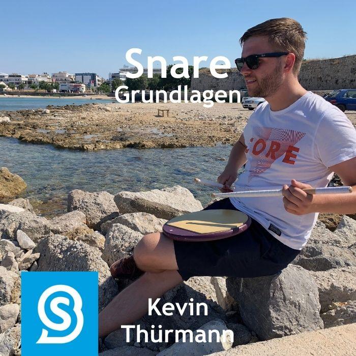 Snare Grundlagen üben mit Kevin Thürmann