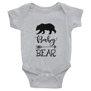 Baby Bear Infant Bodysuit This comfortable bodysuit