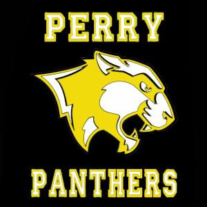 Perry Panthers Face Mask