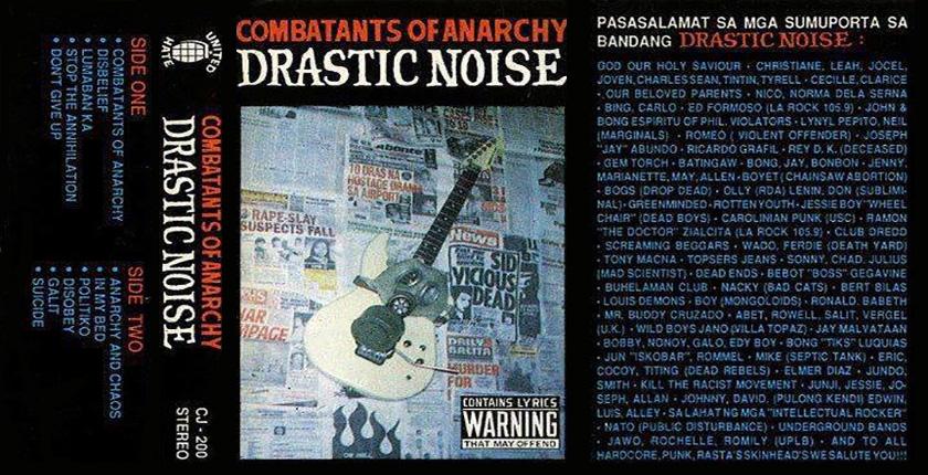 DRASTIC NOISE 840