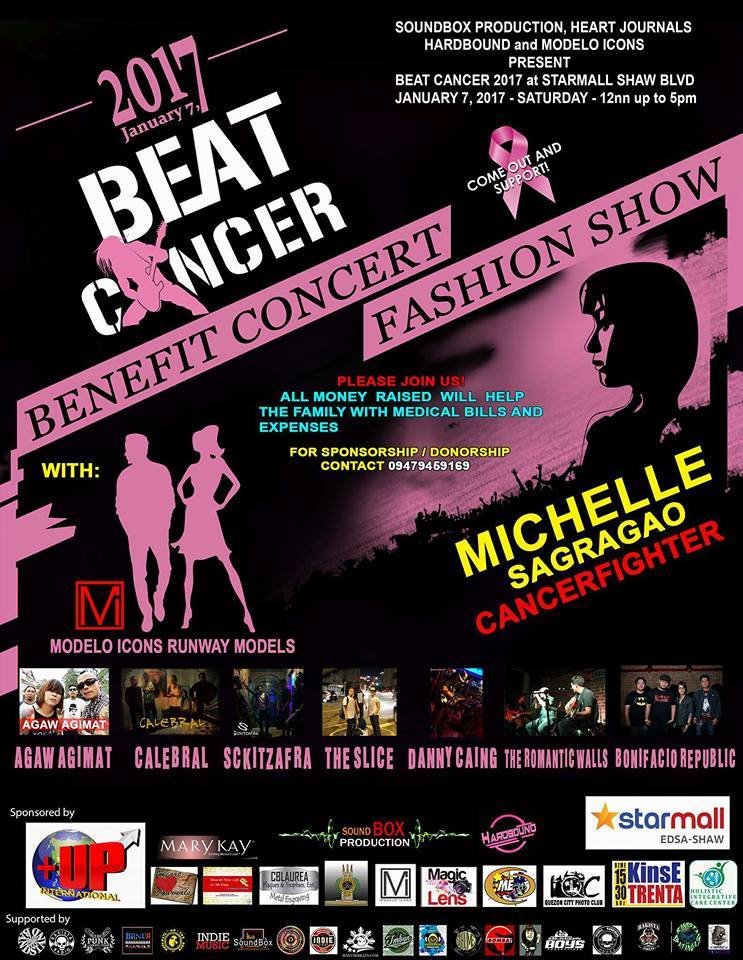 Beat Cancer : Concert & Fashion Benefit