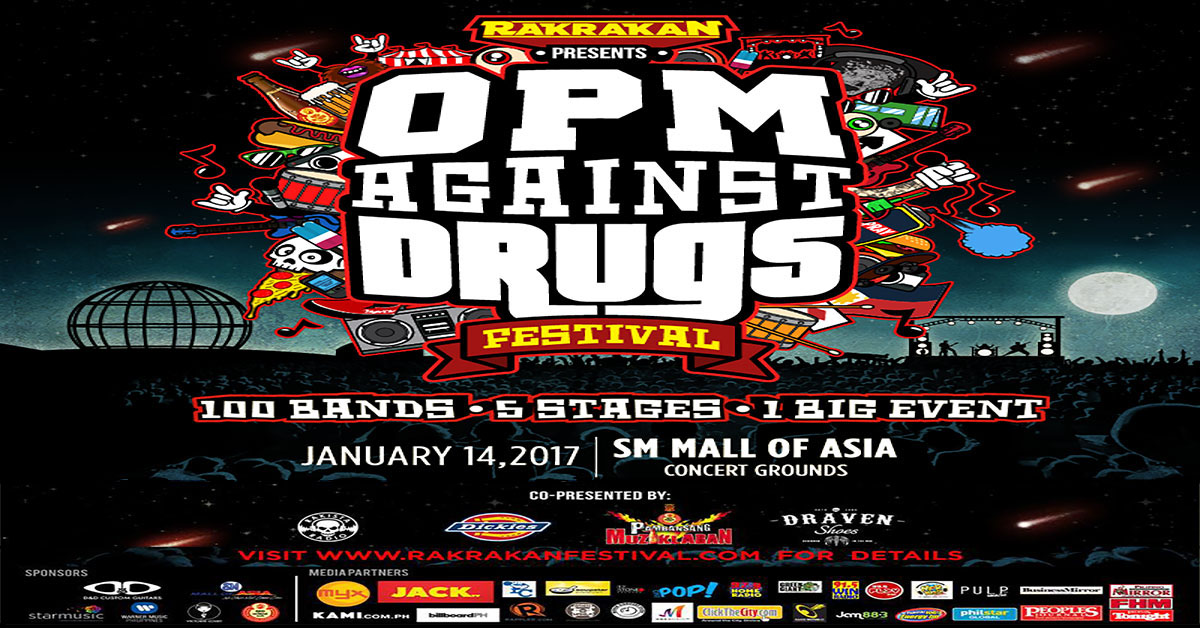 Rakrakan Festival : OPM Against Drugs