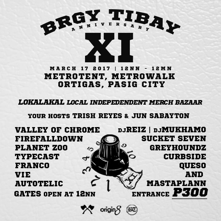 #BrgyTibay11 Anniversary