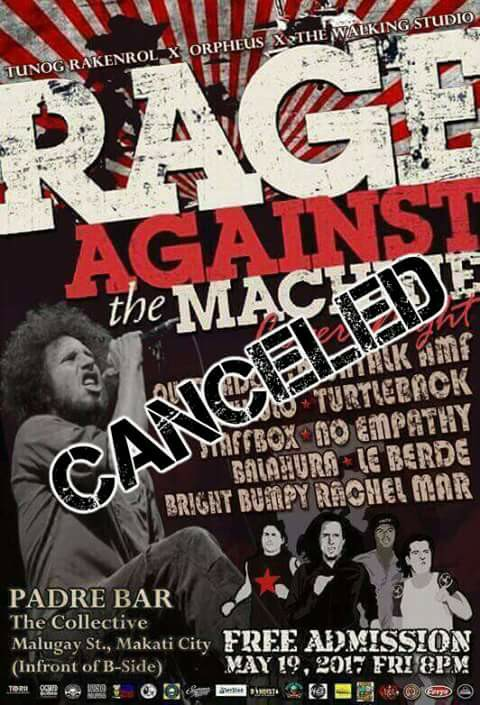 Rage Against The Machine (cover night)