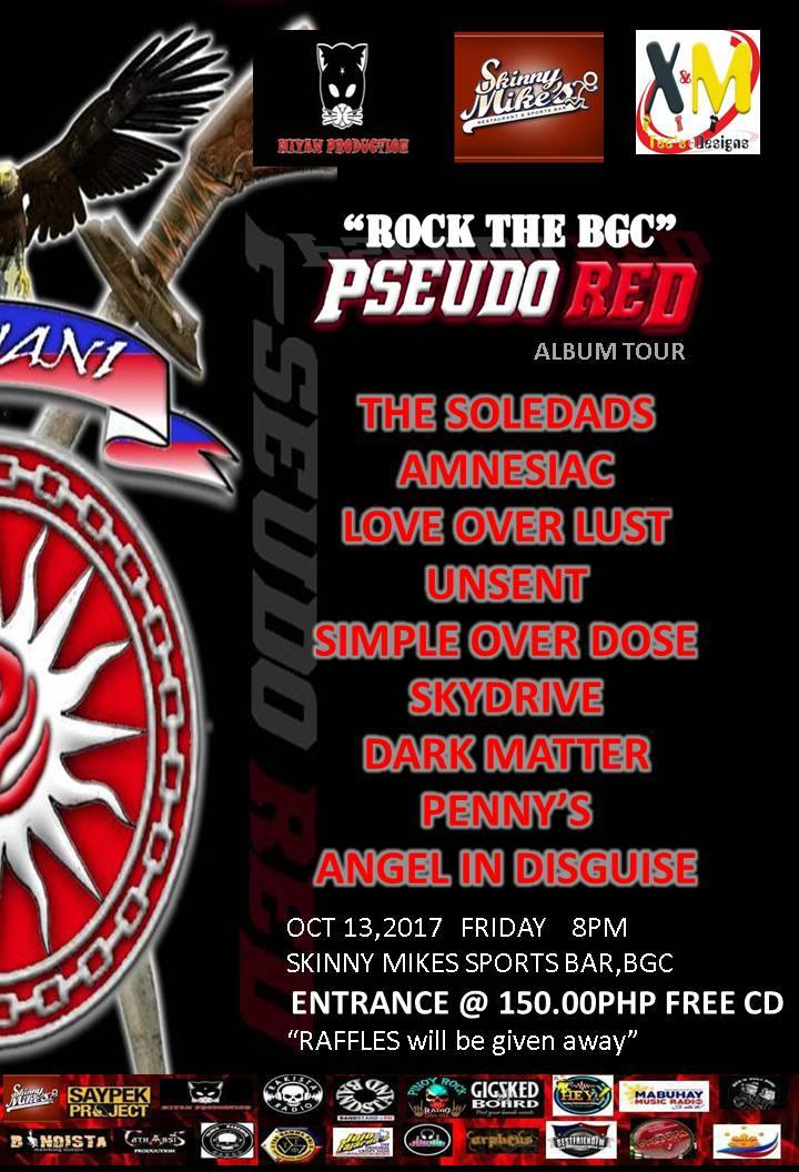 """ROCK THE BGC"" Pseudo RED Album Tour"
