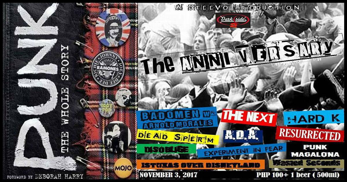 PUNK NIGHT XXIII The Anniversary!