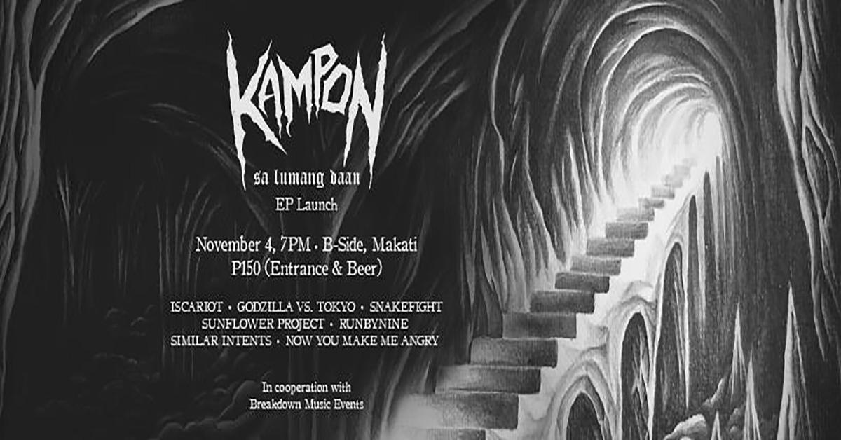 "Kampon ""Sa Lumang Daan"" EP Launch"