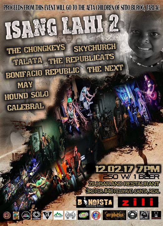 Isang Lahi (Part 2) Benefit Gig for Aeta Children