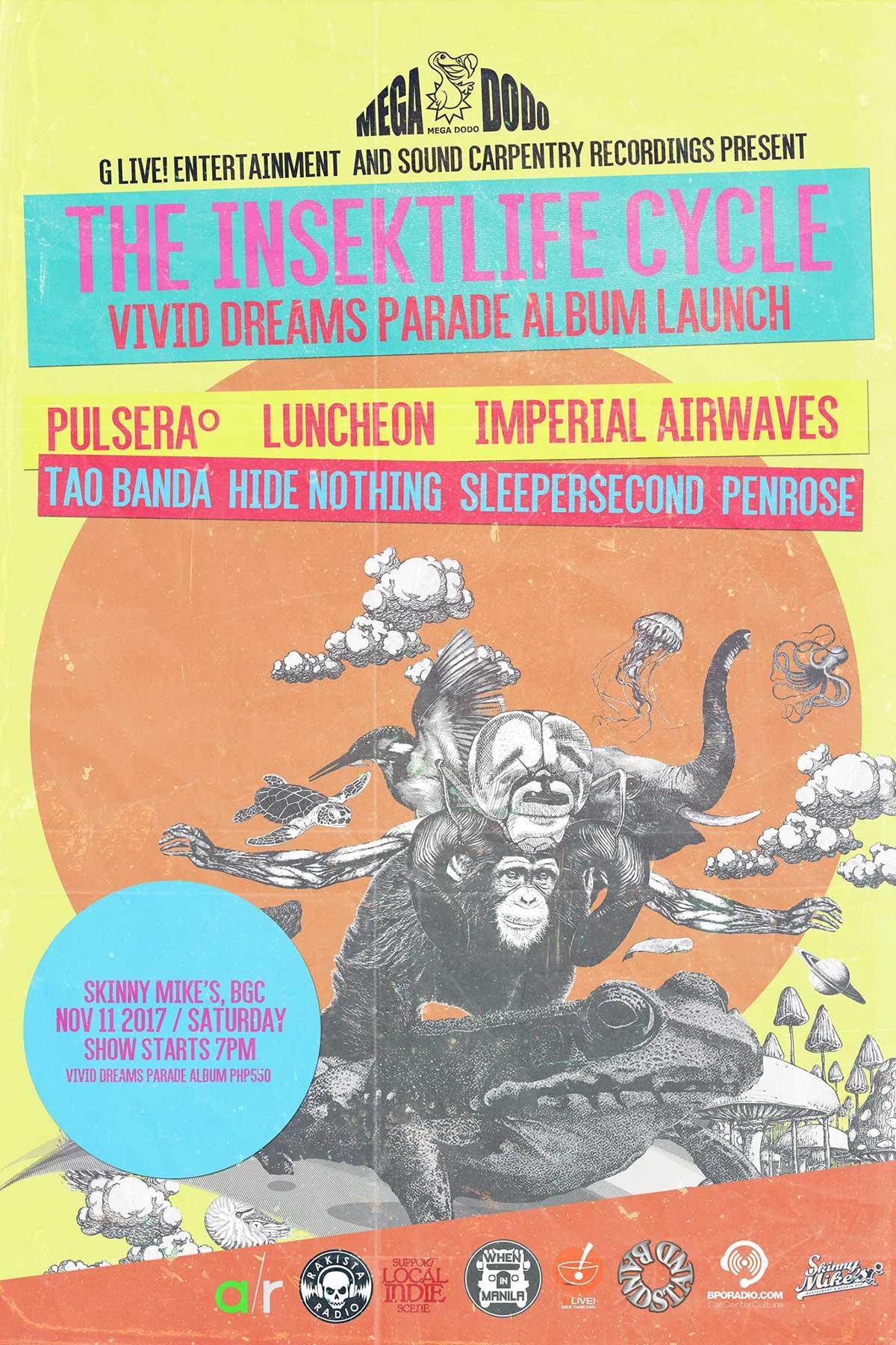 G Live! Entertainment - The Insektlife Cycle Vivid Dreams Parade