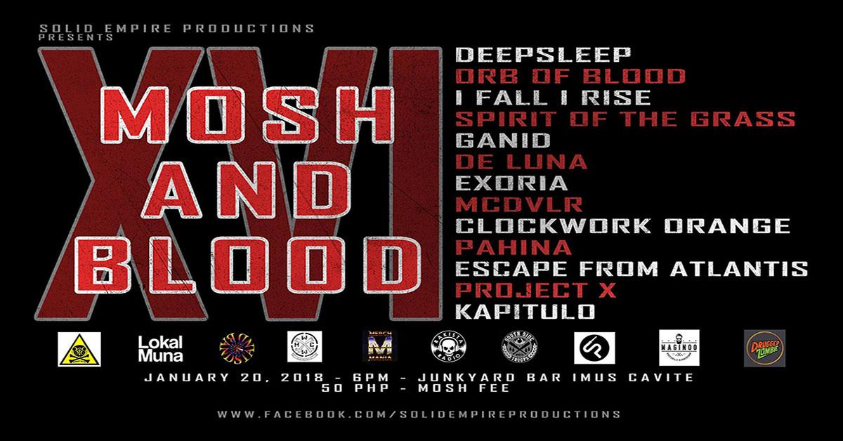 MOSH AND BLOOD XVI - IMUS