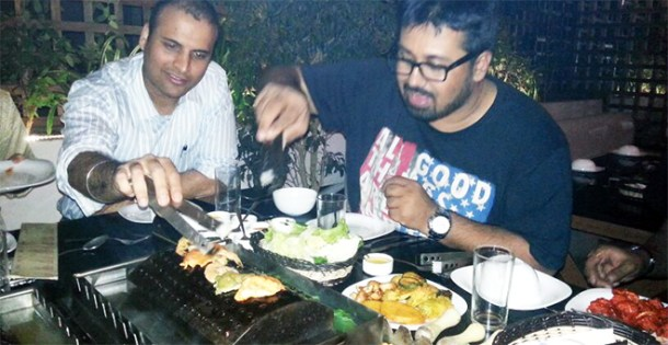 Aadil & Mahesh at YouCook