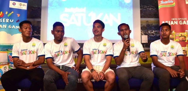 Media Gathering Persib-Indofood di 1933 Dapur dan Kopi. Foto:persib.co.id