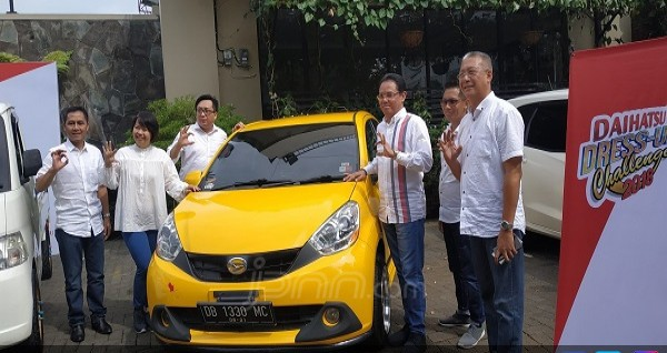Daihatsu dress up challenge 2018 di Manado. Foto: adm/jpnn