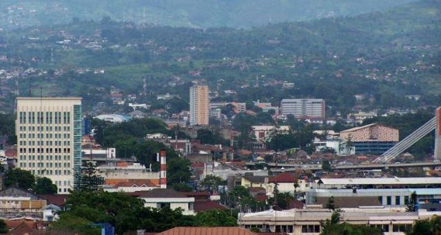 Kondisi Geografi Kota Bandung