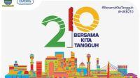 Logo HUT Kota Bandung 2020