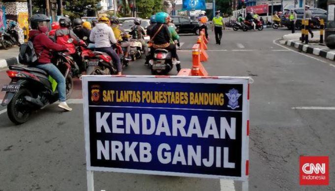 Kota Bandung Berlakukan Ganjil Genap