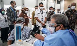 sentra vaksinasi Traveloka Yogyakarta