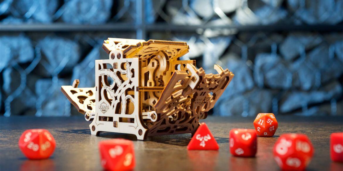 Dice Keeper Ugears Games Collection 4